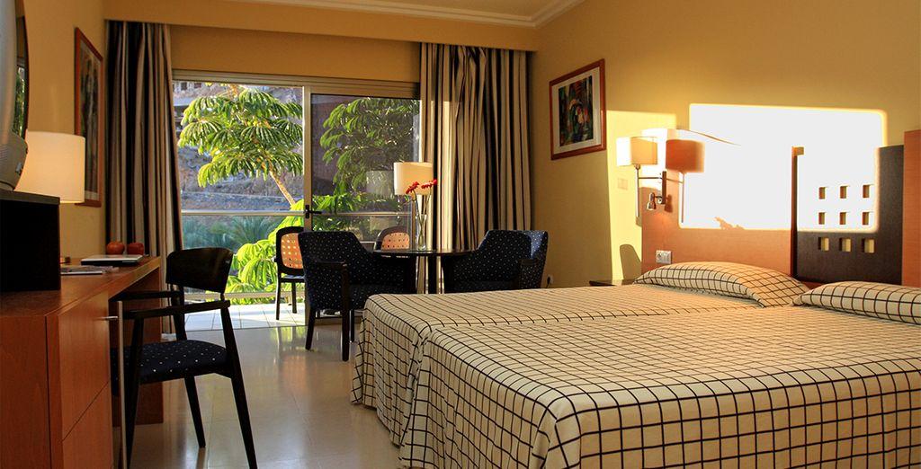 Sleep in a cosy Standard Room