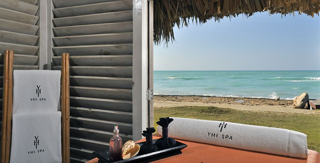Soothe your senses with a spa treatment to the sound of the ocean