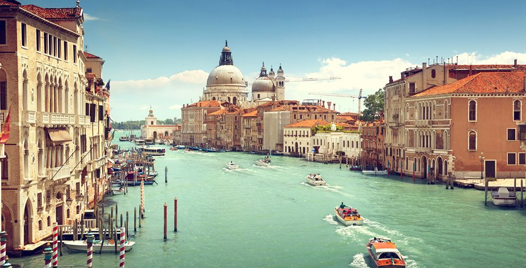 The romantic beauty of Venice is just 55km away - easily accessible if you choose the optional car hire