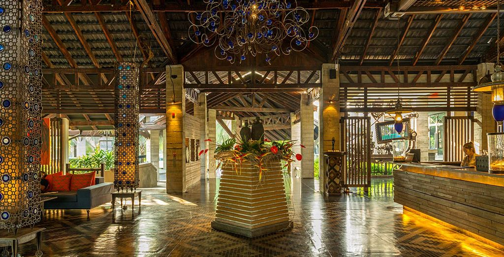 A chic hotel in typical Thai decor, The Slate 5*
