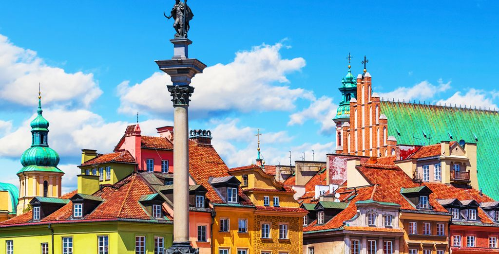 In the heart of Poland's colourful capital