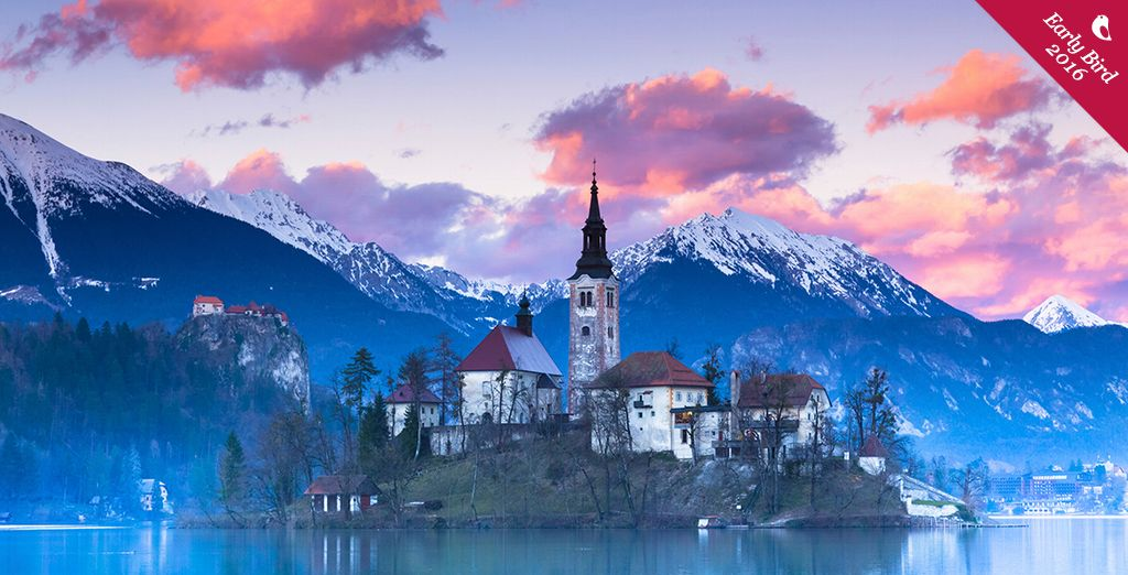 Experience Slovenia's culture-rich capital and picturesque lakes on the 2 stop adventure