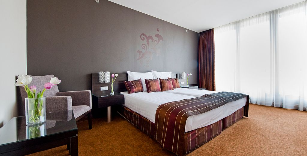 to your upgraded room