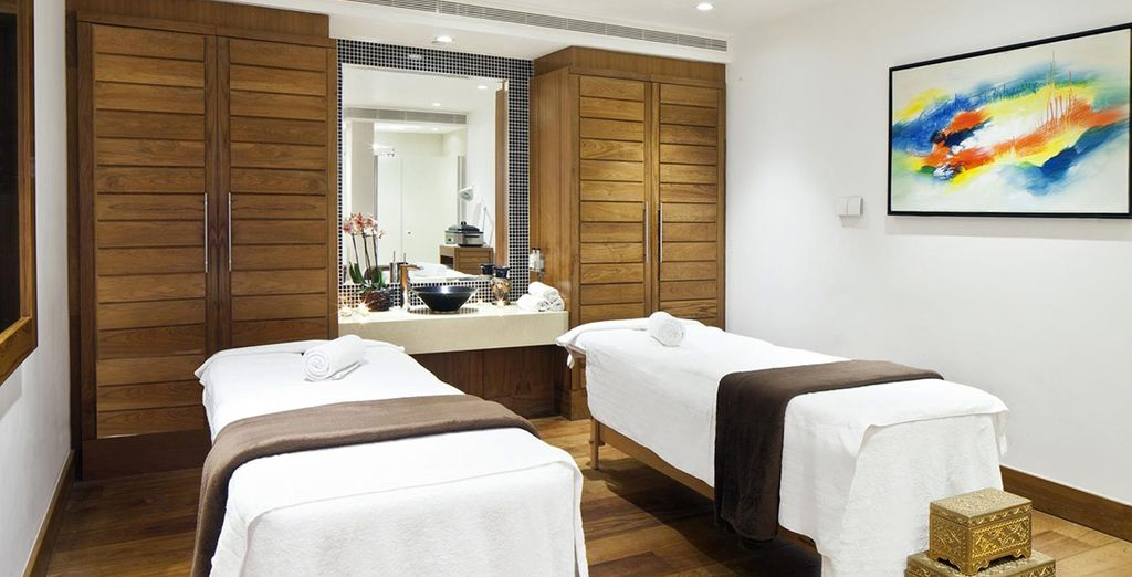 Here you will also find personalised massage treatments