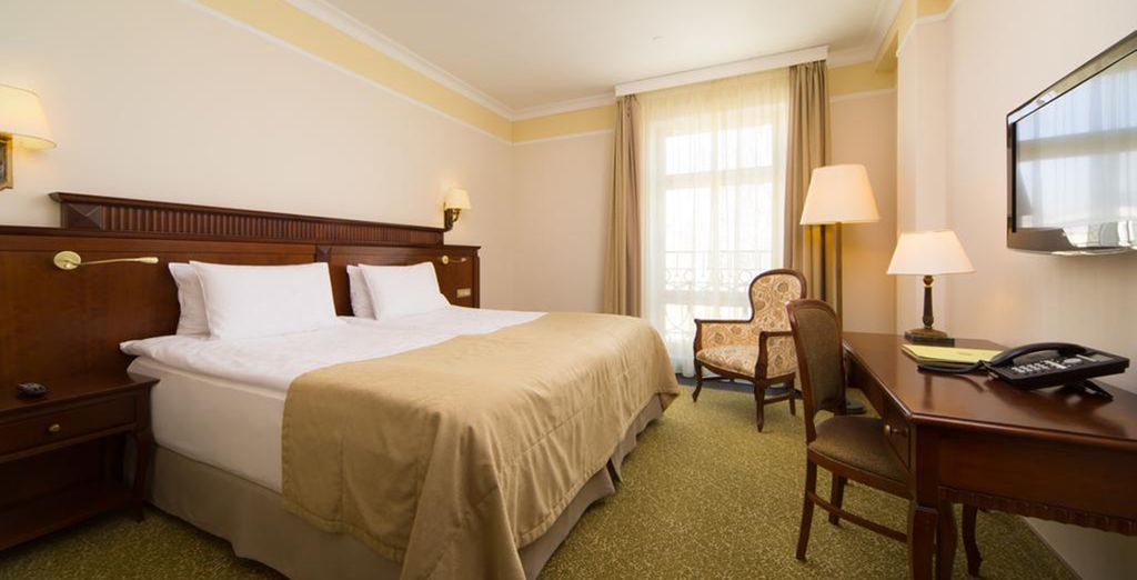Our members can enjoy a Standard Room with daily breakfast