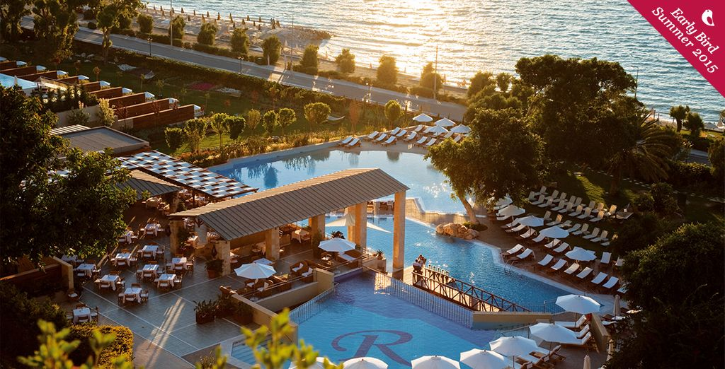 Dreaming of your next holiday...? - Amathus Beach Hotel 5* Rhodes