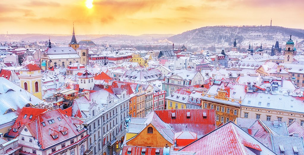 Treat yourself to a city break in Prague