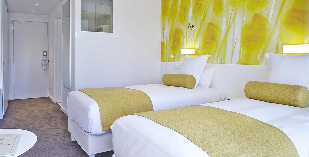 Our members can enjoy a light, bright Classic Room