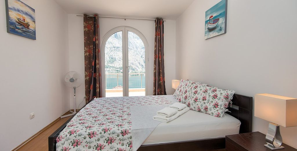 With 2 modern bedrooms