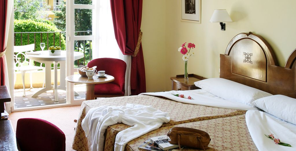 Stay in a luxurious Superior Room in the Monasterio San Miguel