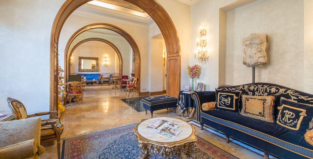 From the elegant Romanico Palace