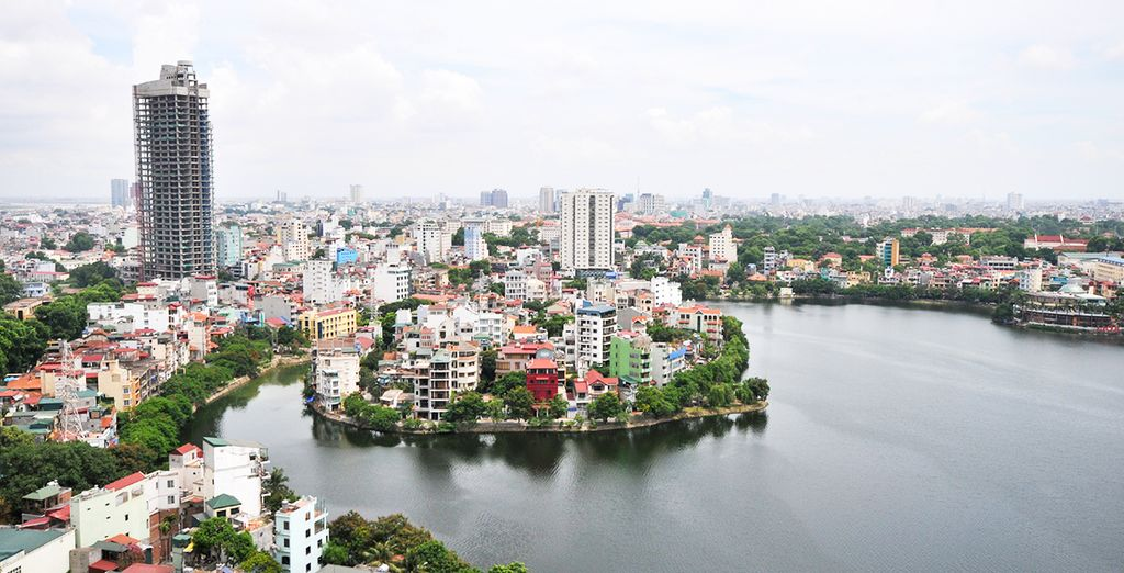 Start in the capital, Hanoi, visiting bustling markets to get a sense of the city's energy