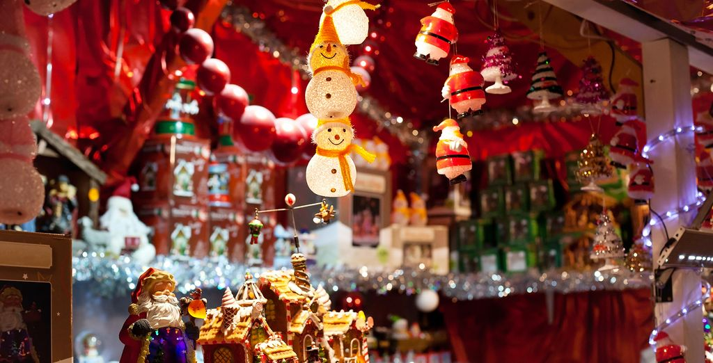 From the 23rd November until the 23rd December you will get to experience the Christmas markets