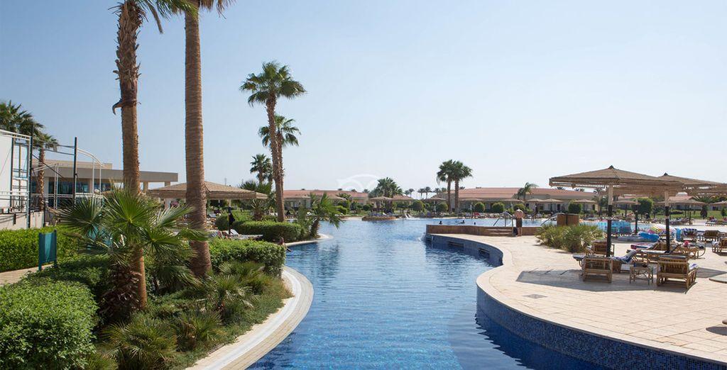 Soak up the sunshine in Sharm el Sheik - Maritim Jolie Ville Royal Peninsula 5* Sharm El Sheikh