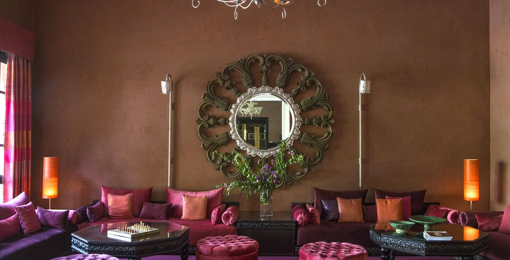 Immerse yourself in Moroccan opulence