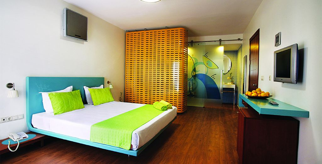 Our members can enjoy a spacious Bungalow Room