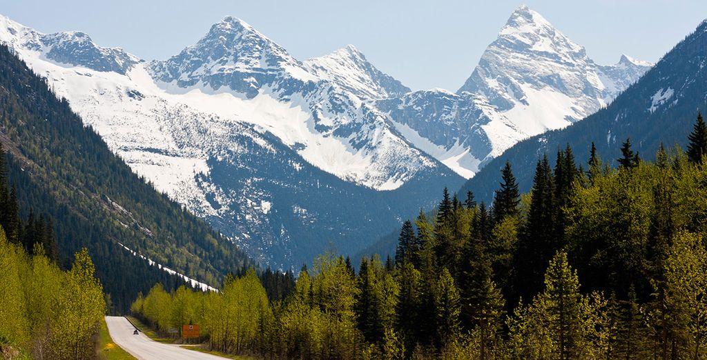 ski holidays in february in Canada