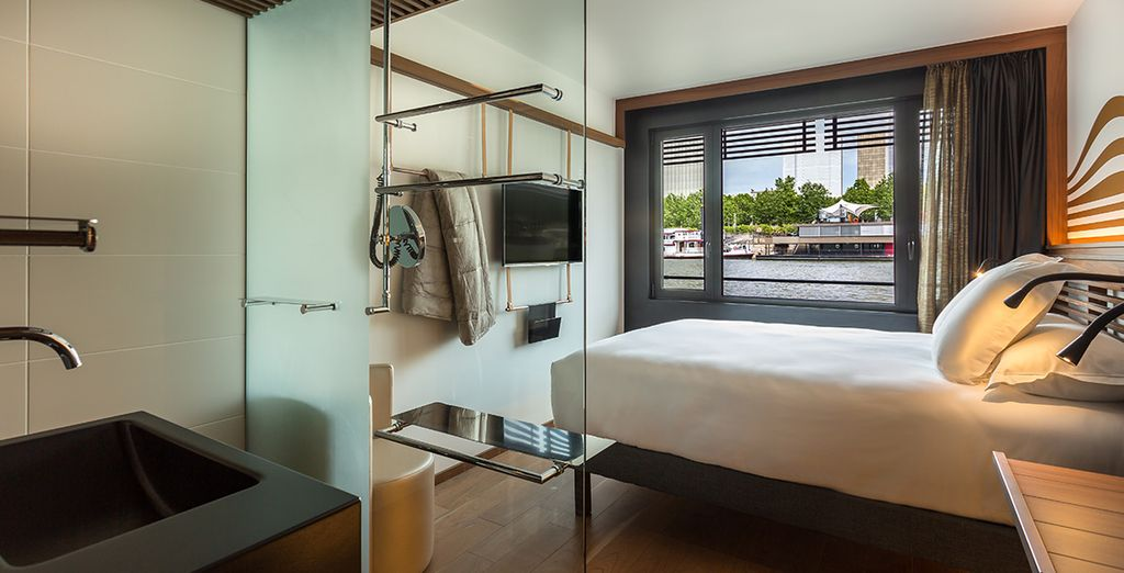 OFF offers a myriad of chic rooms