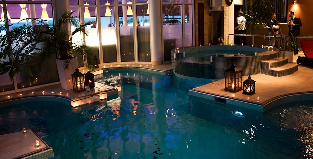 The tranquil facilities at the Haven Spa are not to be missed