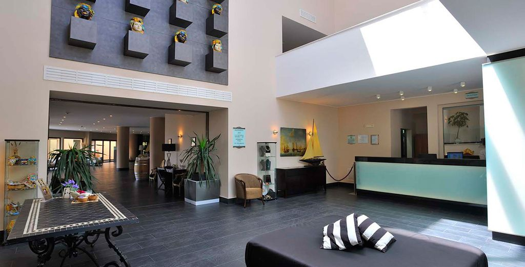 Discover this contemporary hotel