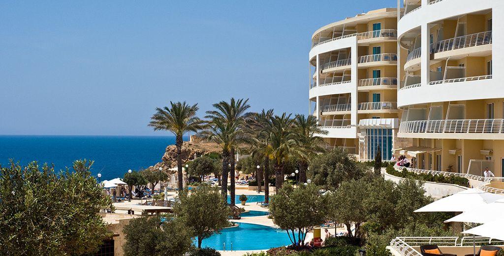 At Radisson Blu Golden Sands Resort - Radisson Blu Resort Golden Sands***** - Golden Bay - Malta Mellieha