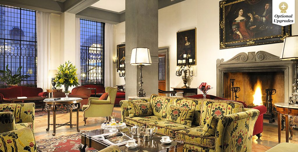 Enter one of the most prestigious luxury hotels in Florence... - Hotel Helvetia & Bristol 5* Florence