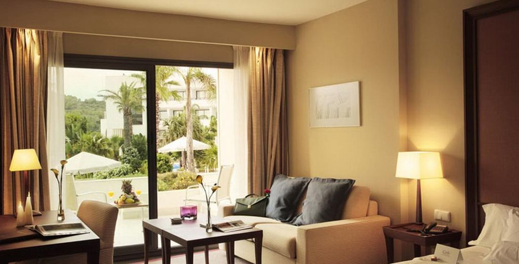 Members staying as group of 2 adults & 1 child or 3 adults will be upgraded to a deluxe room