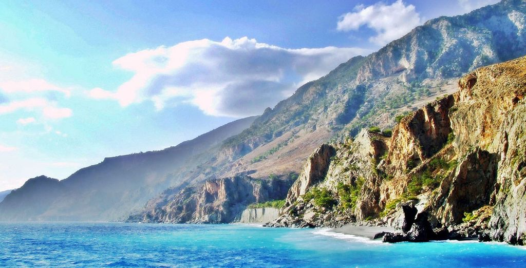 On the stunning island of Crete