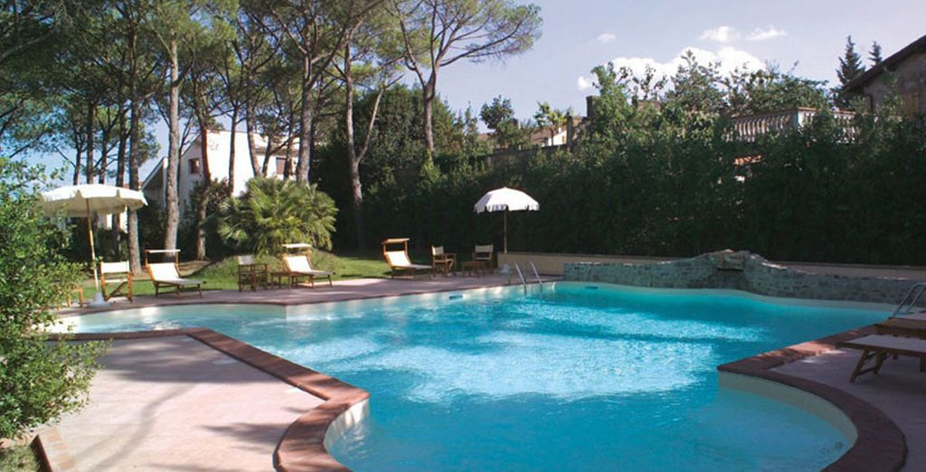 With a delightful stay at this wonderful hotel - Villa Bianca Hotel 4* Gambassi Terme