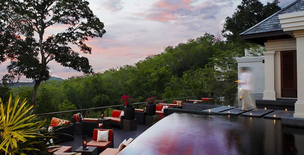Take in your lush, idyllic surroundings
