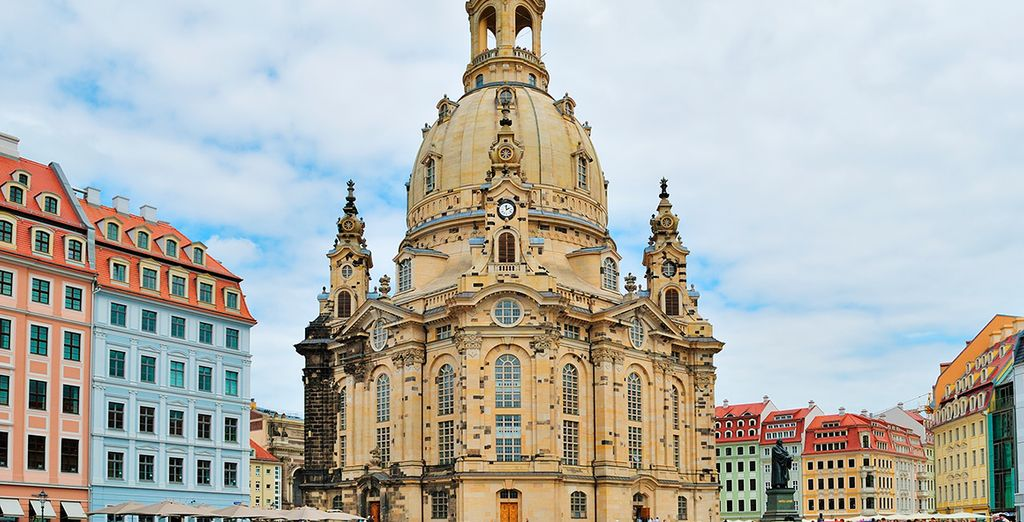 Next to the famous Frauenkirche church