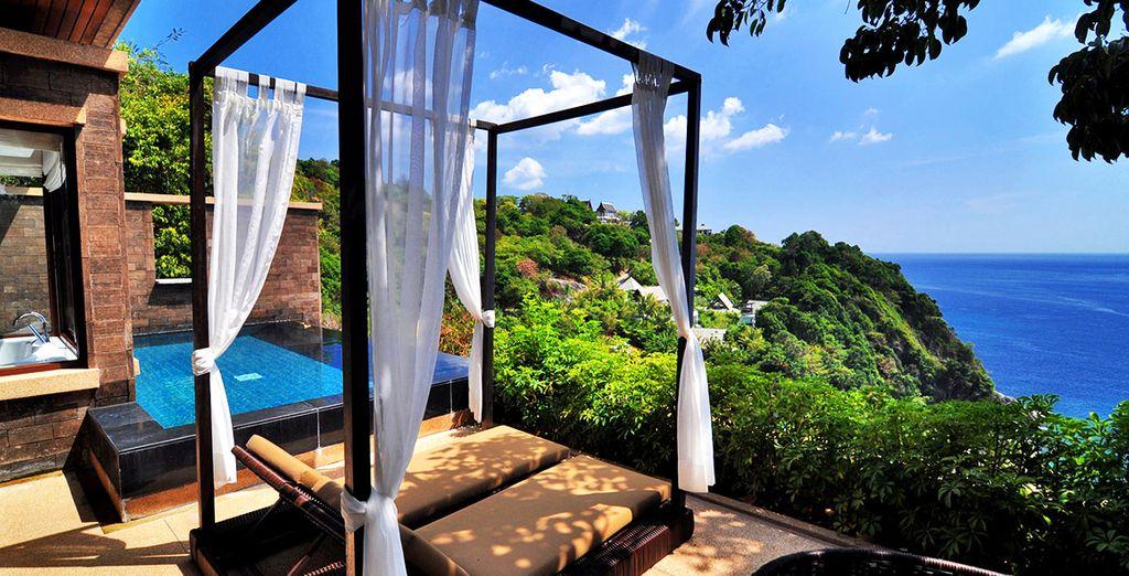 Rest in idyllic accomodation  - Paresa Resort Phuket 5* Phuket