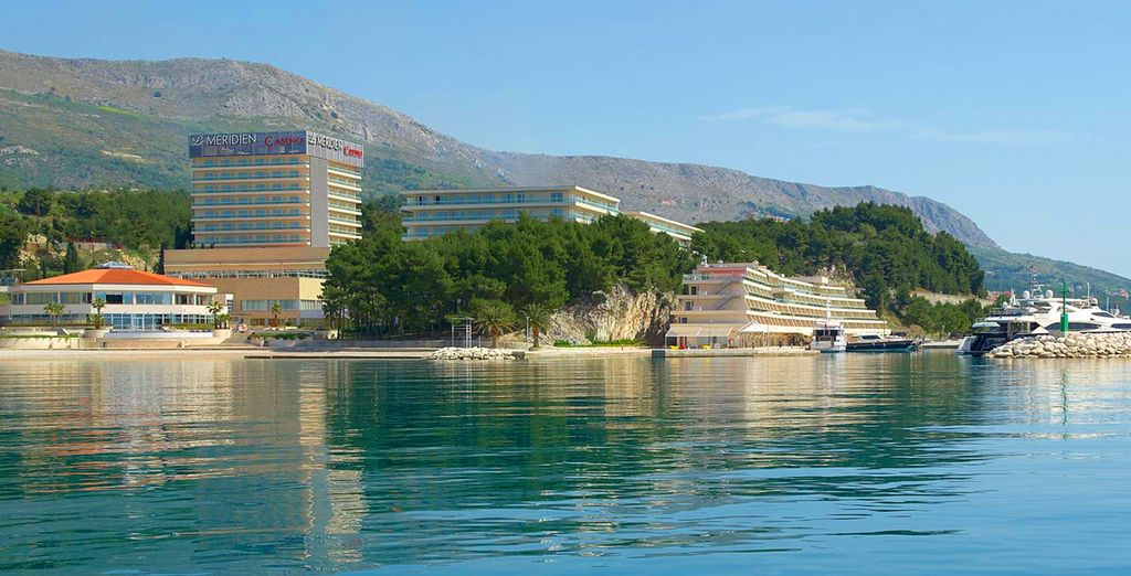 Staying at the luxuriant Le Meridien Lav in Split
