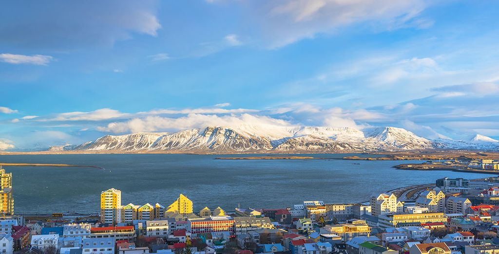 Start this unusual tour in Reykjavik