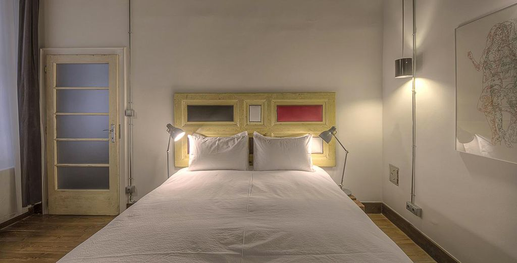 Our members can enjoy a one bedroom apartment