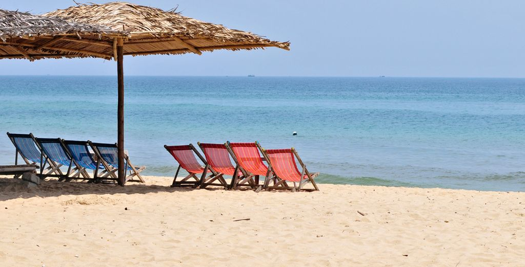 Then move onto the coastal city of Nha Trang for a taste of beach paradise
