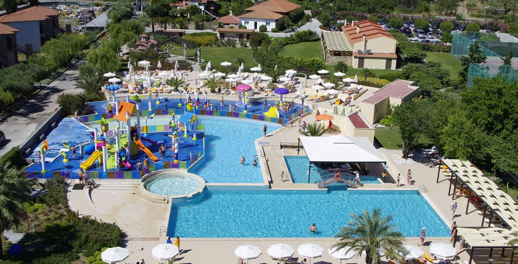 From this all inclusive, family resort spread across six hectares of land