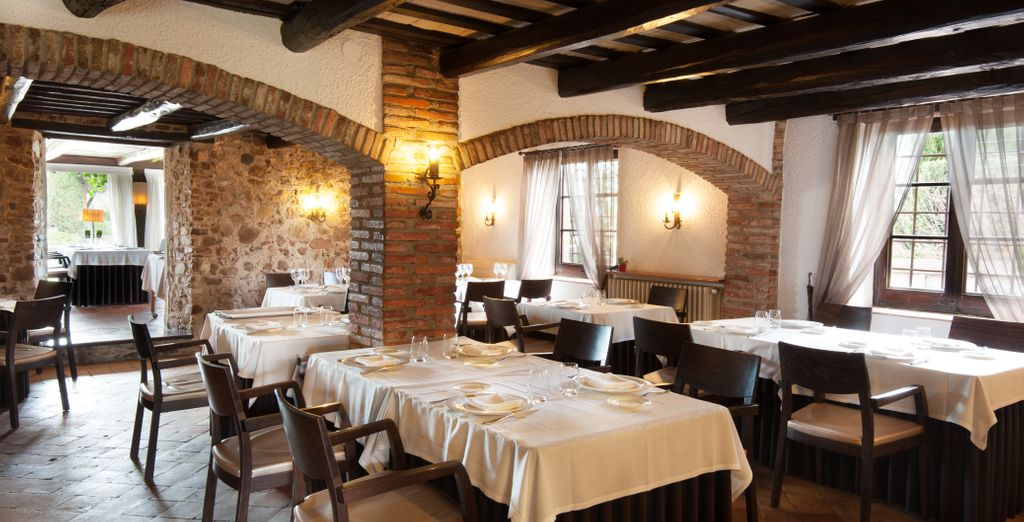 And wonderful farmhouse restaurant