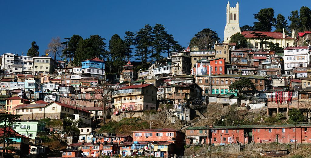 Before heading up to Shimla - in the Foothills of the Himalayas