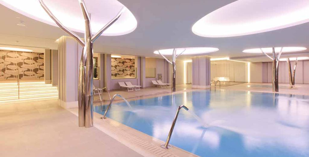 And top class services, including a state of the art spa