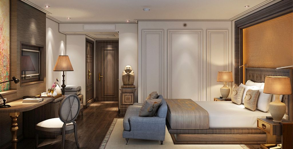 So you can be assured of rest and relaxation after the day's adventures (La Belle Vie, Hanoi)