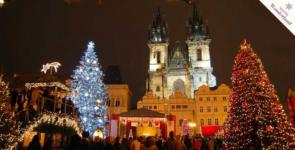 Step in to a fairytale city and enjoy the very best of the festive season... - Sheraton Prague Charles Square 5* Prague
