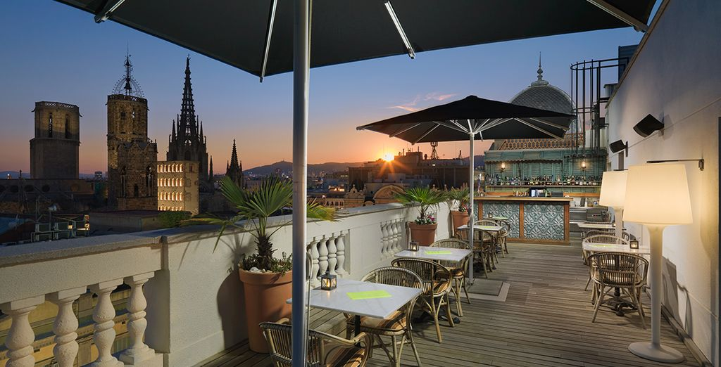 A superb, luxury hotel in the heart of the city - H10 Montcada Boutique Hotel 4* Barcelona