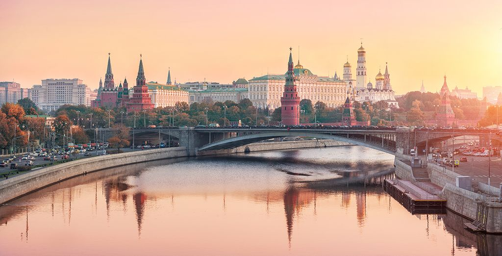 And the iconic Kremlin