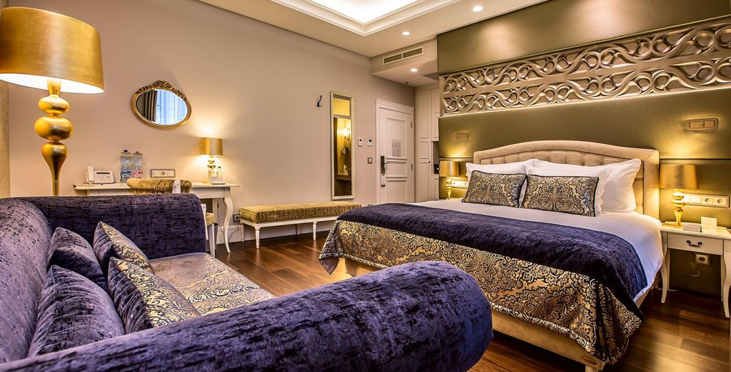 Whose regal decor will impress (pictured: Deluxe Room)