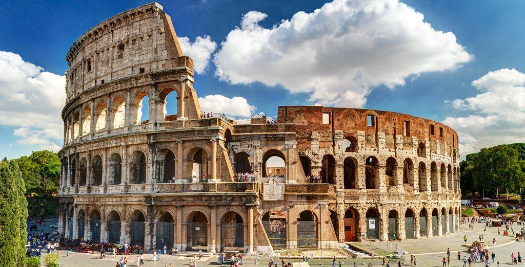 The unique Colosseum of Rome