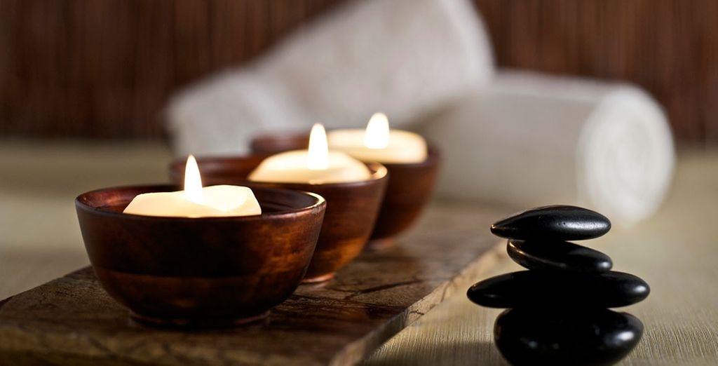 Treat yourself to a massage in the spa