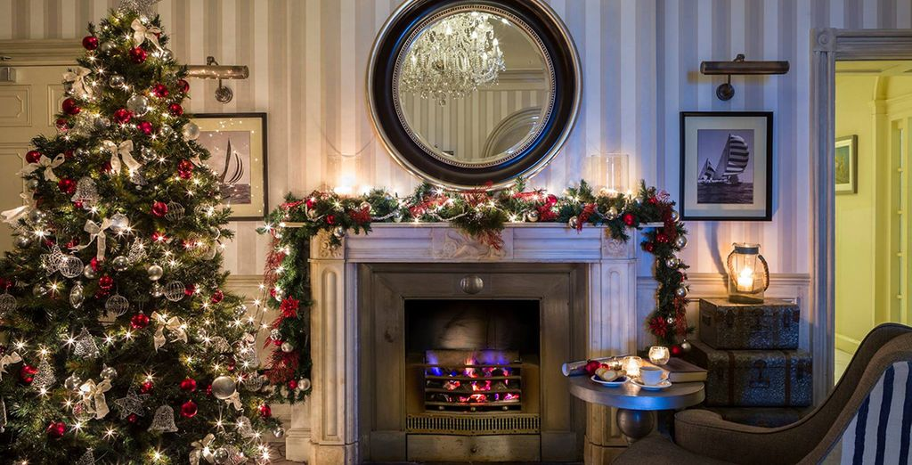Stay here during the festive period cosy up by the fire