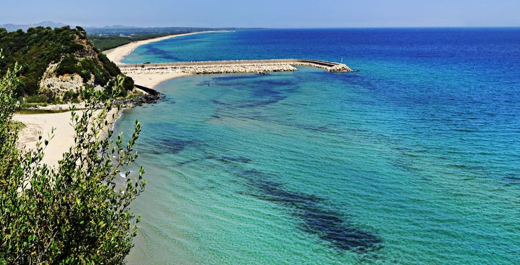 An excellent base to explore Sardinia, with stunning beaches nearby
