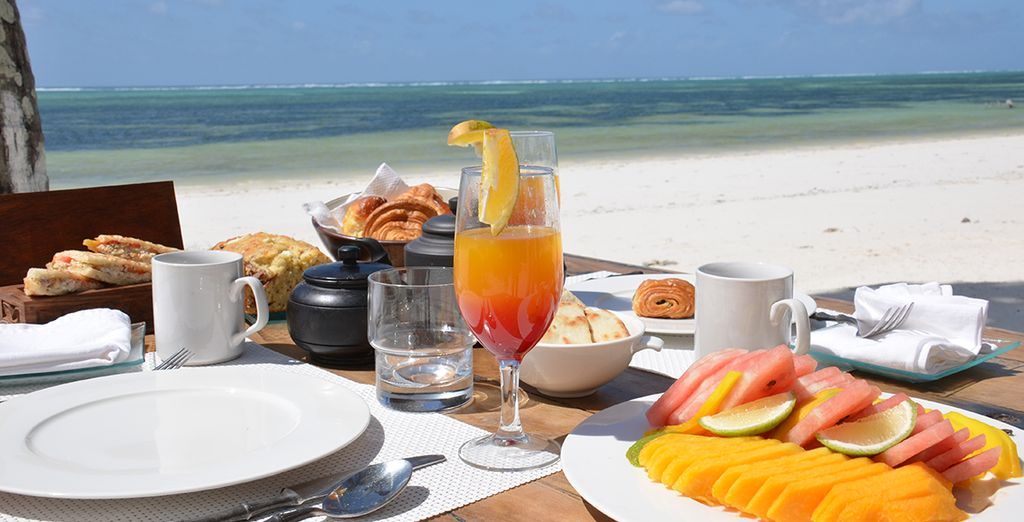 Enjoy meals of succulent, fresh flavours during your all inclusive stay